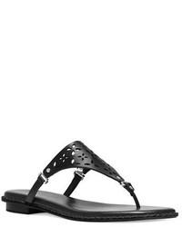 9c1aa1dedebb ... MICHAEL Michael Kors Michl Michl Kors Darci Leather Thong Sandals