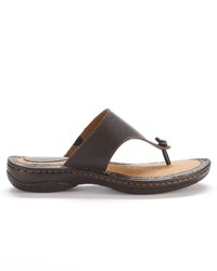 829d8e3361da ... Sonoma Life Style Leather Thong Sandals ...