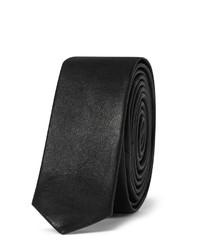 Saint Laurent Leather Tie