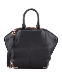 Alexander Wang Small Emile Skeletal Tote Bag Blackrose Golden