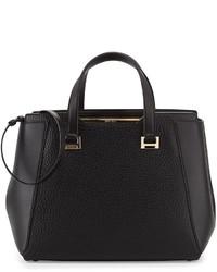 Jimmy Choo Alfie Large Leather Tote Bag Black
