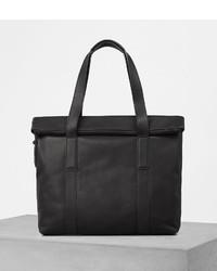 AllSaints Komaba Leather Tote Bag