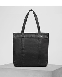 AllSaints Storm Leather Tote