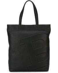 Bally Embossed Logo Shopper Tote