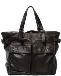 Belstaff Pinner Leather Tote Bag