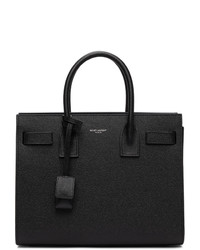 Saint Laurent Black Baby Sac De Jour Tote