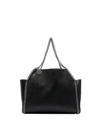 Stella McCartney Black Falabella Reversible Monogram Tote