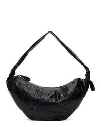 Lemaire Black Large Croissant Bag