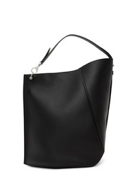 Lanvin Black Large Hook Tote