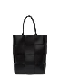 Bottega Veneta Black Leather Urban Tote