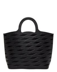 Balenciaga Black Neo Basket Tote