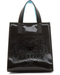 Kenzo Black Patent Mini Icons Tote