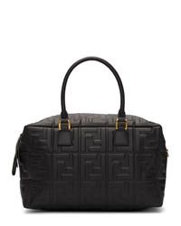Fendi Black Small Forever Boston Bag
