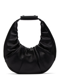 Staud Black Soft Moon Bag
