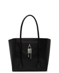 Givenchy Black Soft Padlock Large Antigona Tote