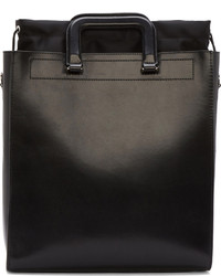 3.1 Phillip Lim Black Structured Leather Tote Bag