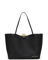 Marc Jacobs Black The Kiss Lock Tote