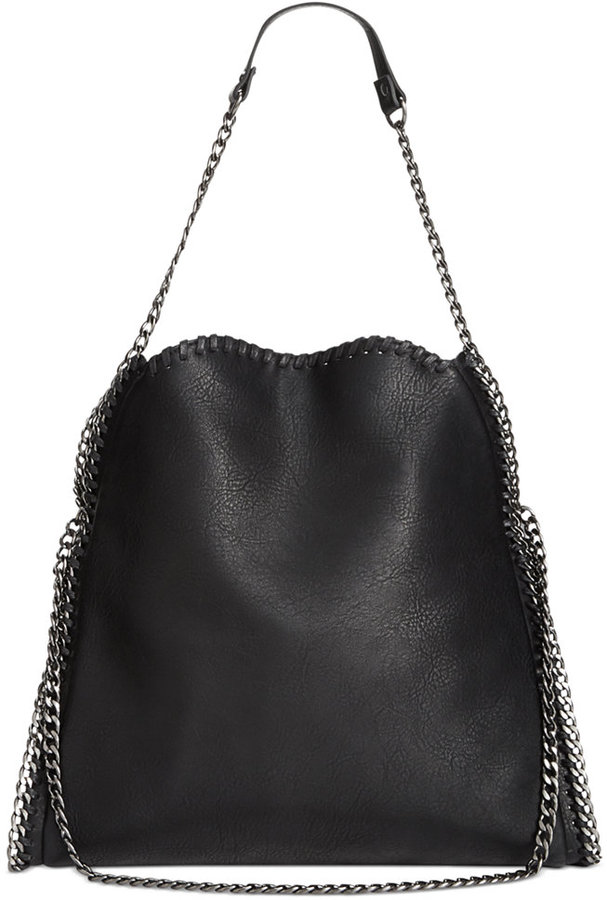 c005c6263b Steve Madden Btotally Chain Tote, $108 | Macy's | Lookastic.com