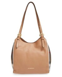 Burberry Small Canterbury House Check Leather Tote