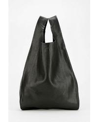 Baggu Classic Small Leather Shopper Bag