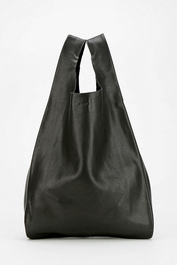 Preferred Baggu Classic Small Leather Shopper Bag | Where to buy & how to wear RY77