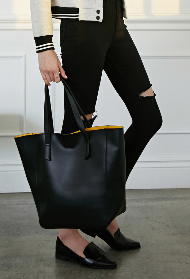 colorblocked-faux-leather-tote-original-191263 6 Types of Tote Bags that Every Girl Needs for College