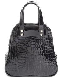 Comme des Garcons Comme Des Garons Croc Embossed Faux Leather Tote