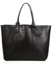 95dbbfef9cfb Men s Black Leather Tote Bags by Polo Ralph Lauren