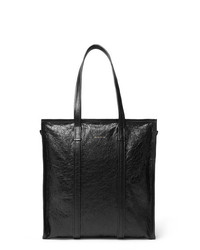 Balenciaga Creased Leather Tote Bag