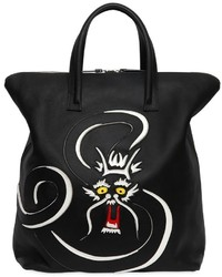 Dragon Vegetable Tanned Leather Tote Bag