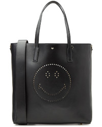Anya Hindmarch Ebury Featherweight Smiley Leather Tote