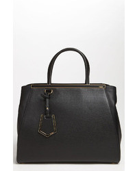 Fendi 2jours Elite Leather Shopper