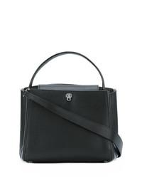 Valextra Flap Closure Tote Bag