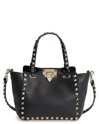 Valentino Garavani Rockstud Mini Alce Leather Tote