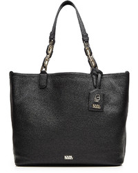 Karl Lagerfeld Grainy Leather Tote Bag
