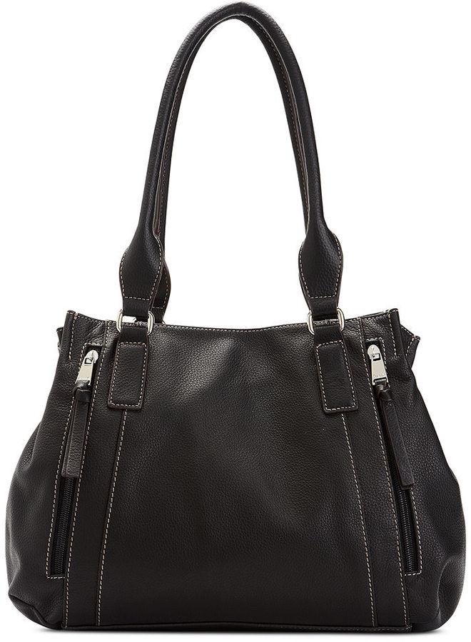 169 Tignanello Handbag Fab Function Organizer Leather Per