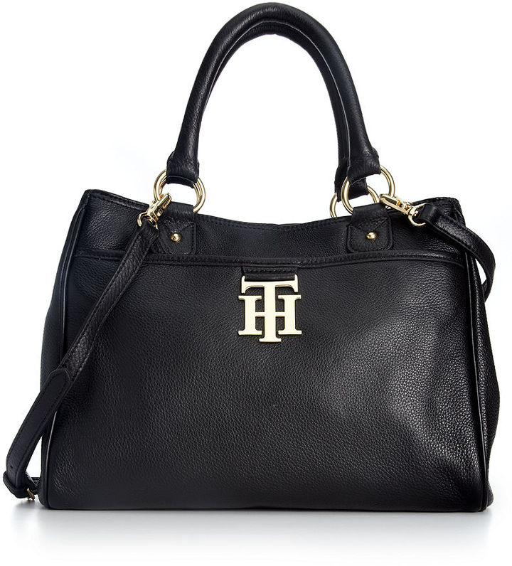 1c93d60b9e2161 Tommy Hilfiger Handbag Th Monogram Leather Convertible Shopper, $178 ...