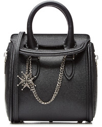 Alexander McQueen Heroine Mini Leather Tote