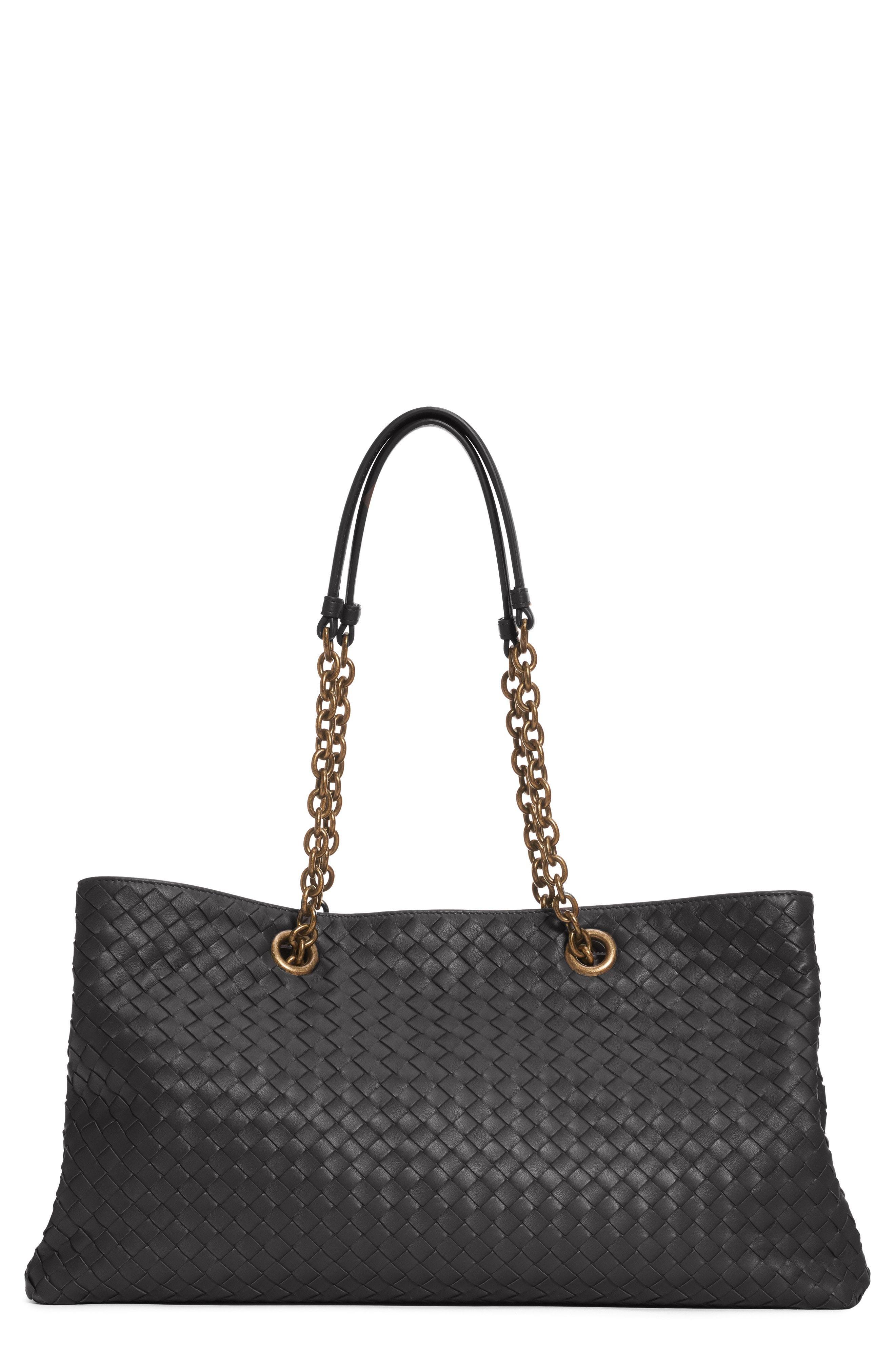 Bottega Veneta Intrecciato Eastwest Leather Tote Bag