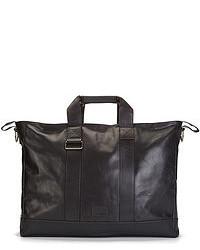 Kris Van Assche Leather Oversized Tote