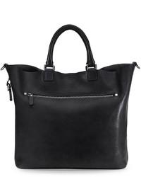 Shinola Large Leather Tote Bag