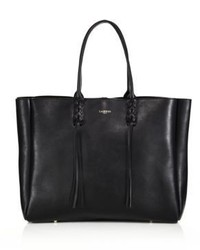 Lanvin Large Tasseled Leather Tote