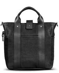 Shinola Leather Commuter Tote Bag