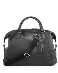 Giorgio Armani Leather Holdall