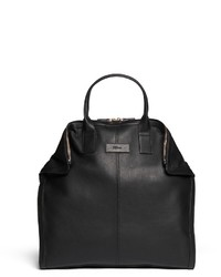 Alexander McQueen Leather Manta Bag