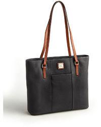 Dooney & Bourke Lexington Leather Shopper Tote Bag