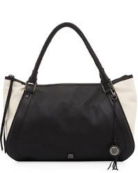 Elliott Lucca Marcela Pebble Leather Shopper Bag Blackstone