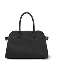The Row Margaux 10 D Textured Leather Tote