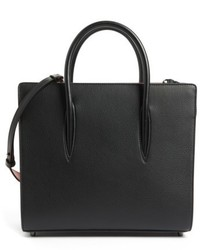 Medium paloma leather tote black medium 4913154