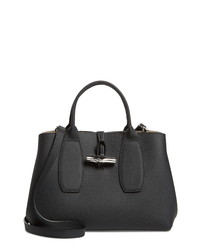 Longchamp Medium Roseau Leather Tote